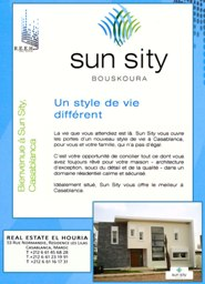 Sun Sity-Immobilier maroc-keriximmo